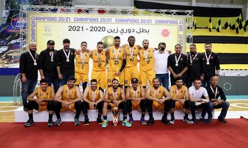 Al Ahli crowned back-to-back basketball champions!