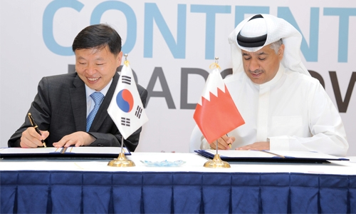 Bahrain, Korea for  greater digital ties