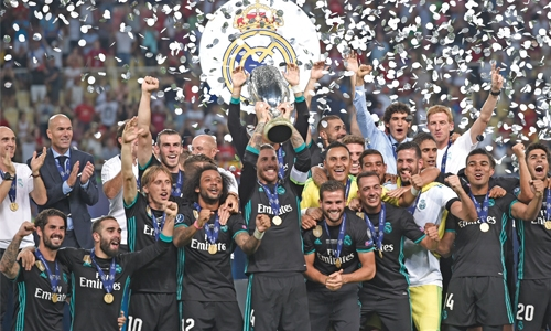Super Cup for Madrid