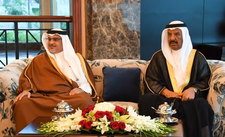 HRH Crown Prince hails BDF's role in Bahrain's security, stability