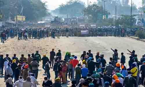 Republic Day: Chaos in Delhi border as farmers break barricades
