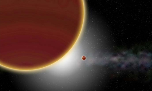 New planet discovered in orbit of young Milky Way star