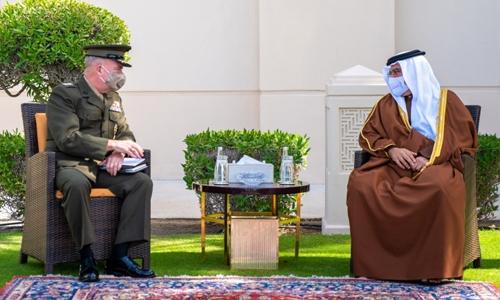 HRH Prince Salman hails strategic Bahrain-US defence partnership