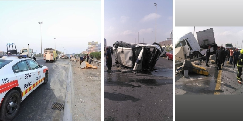 Breaking News: Condition of policemen involved in horrific accident revealed