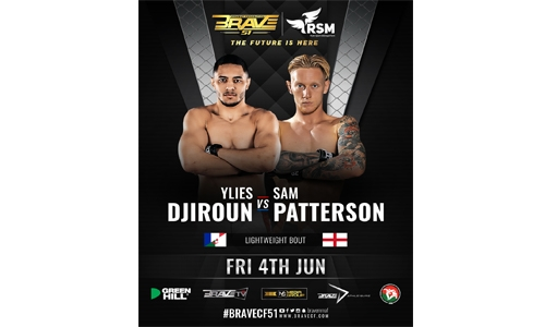 Djiroun to return against Patterson at BRAVE CF 51