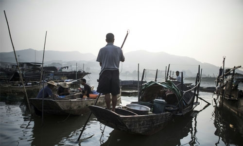 An ancient Chinese fishing community washes ashore