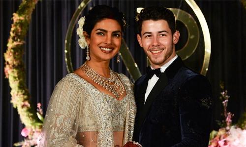 Priyanka Chopra, Nick Jonas celebrate wedding in Delhi