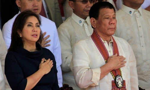 Duterte to VP: keep secrets or lose your 'drugs tsar' post