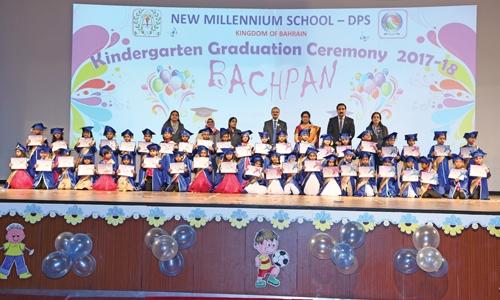 NMS celebrates KG graduation