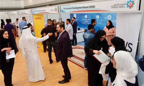 Bahrain EDB Participates in Career Week