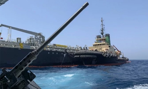 US 'suspects' Iran seized UAE-based oil tanker