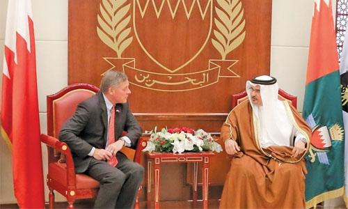 Bahrain, US bolster ties