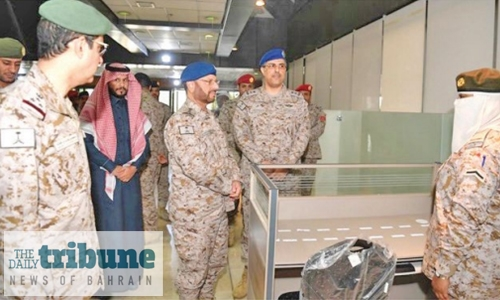 Saudi military opens first women's section