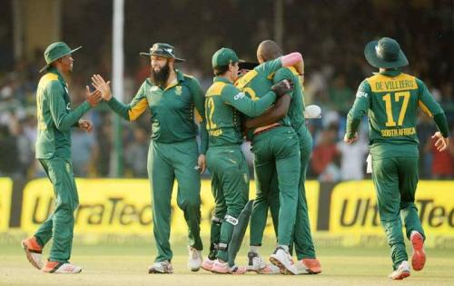 South Africa beat India in first ODI