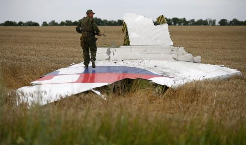 Ukraine blames MH17 downing on 'trained Russian servicemen'