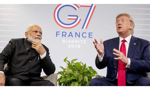 Trump to join Modi in mass rally