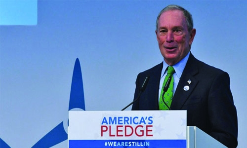 Bloomberg pledges $4.5m to Paris deal