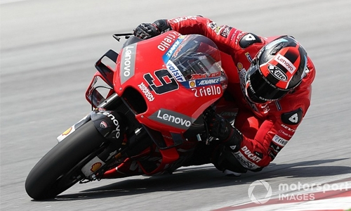 Petrucci fastest in Sepang test