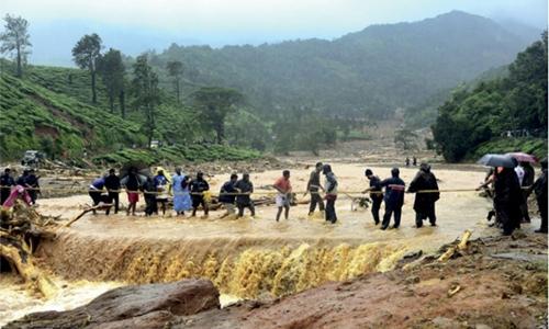 Rain wreaks havoc in kerala