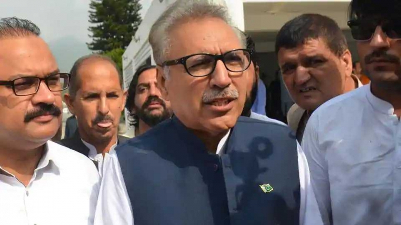 Pakistan's new president Arif Alvi sworn in