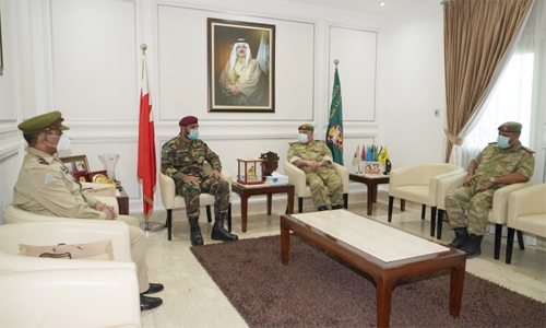 National Guard Director receives Pakistan army delegation