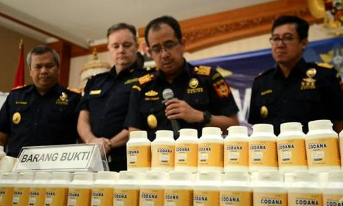 Huge drugs haul intercepted in Bali