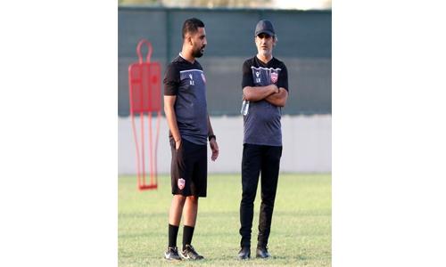 Bahrain Olympic football team head for camp with 28 players