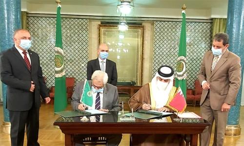 Bahrain signs Arab statute