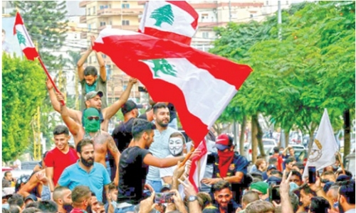 GCC countries warn citizens after protests erupt in Lebanon