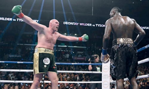 Wilder wants Fury rematch 'ASAP'