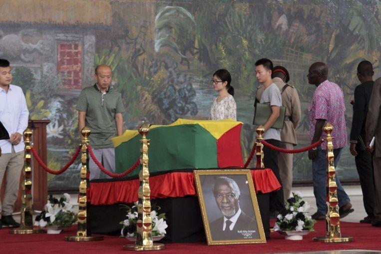 Farewell to Kofi Annan