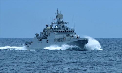 Indian Naval Ship Talwar to arrive at Mina Salman Port today
