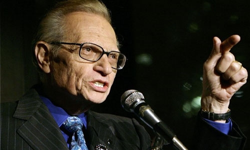 Iconic TV and radio interviewer Larry King dies at 87