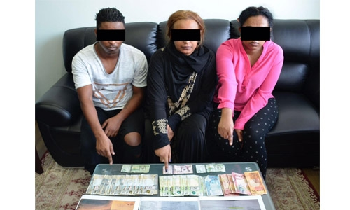 Expats arrested for stealing BD100000