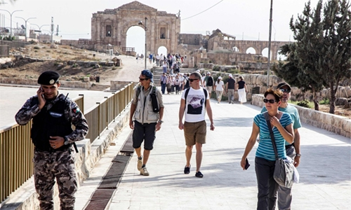 Eight stabbed at Jordan tourist site