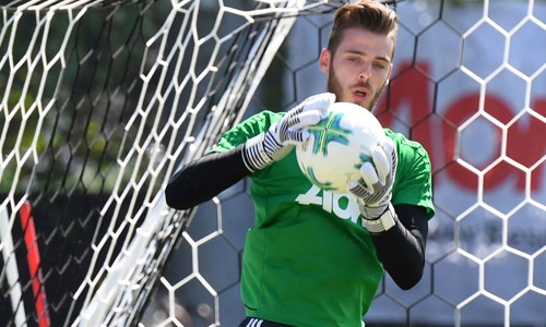 De Gea 'guaranteed' to stay at United - Mourinho