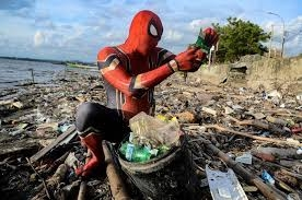 Indonesia's Spider-Man will clean up your trash