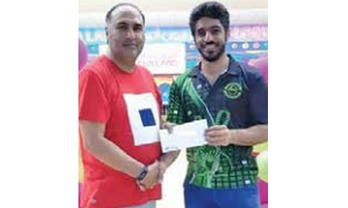Abdulla scores high series in bowling tournament
