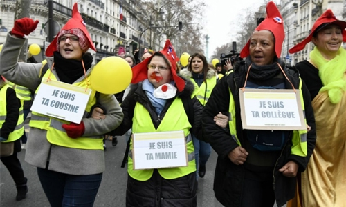 'Yellow vests' storm ministry