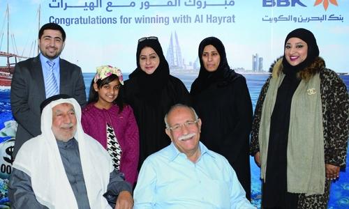 BBK announces Al Hayrat November winners