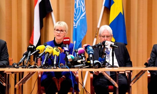 UN-backed Yemen talks open in Sweden