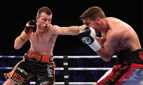 Horn retains world welterweight title