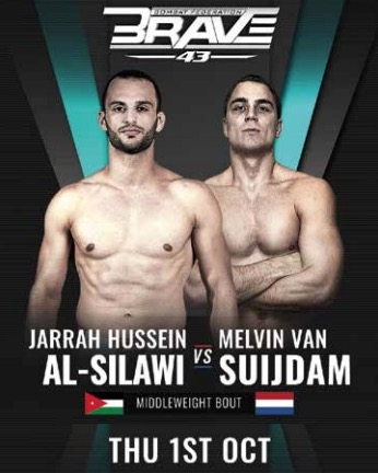 Welterweight champ Jarrah Al-Silawi moves up to Middleweight for BRAVE CF 43