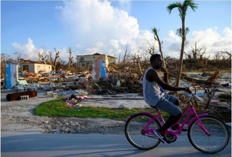 Hurricane-hit Bahamas faces tropical storm