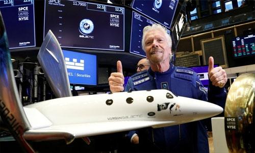 Billionaire Richard Branson set to fly to space aboard Virgin Galactic rocket
