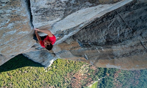 Human spirit climbs to another level in 'Free Solo'