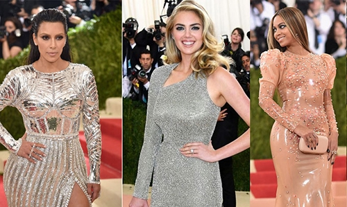 Stars at Met Gala go bold with glam-tech looks