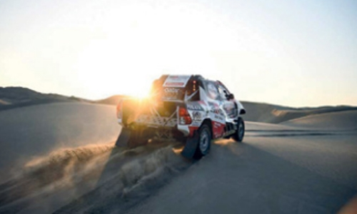 Al-Attiyah stretches Dakar lead in pursuit of third title