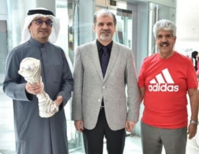 Seef Mall hosts Bahrain National Football team