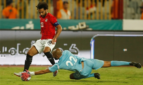 Salah helps Egypt to another warm-up victory